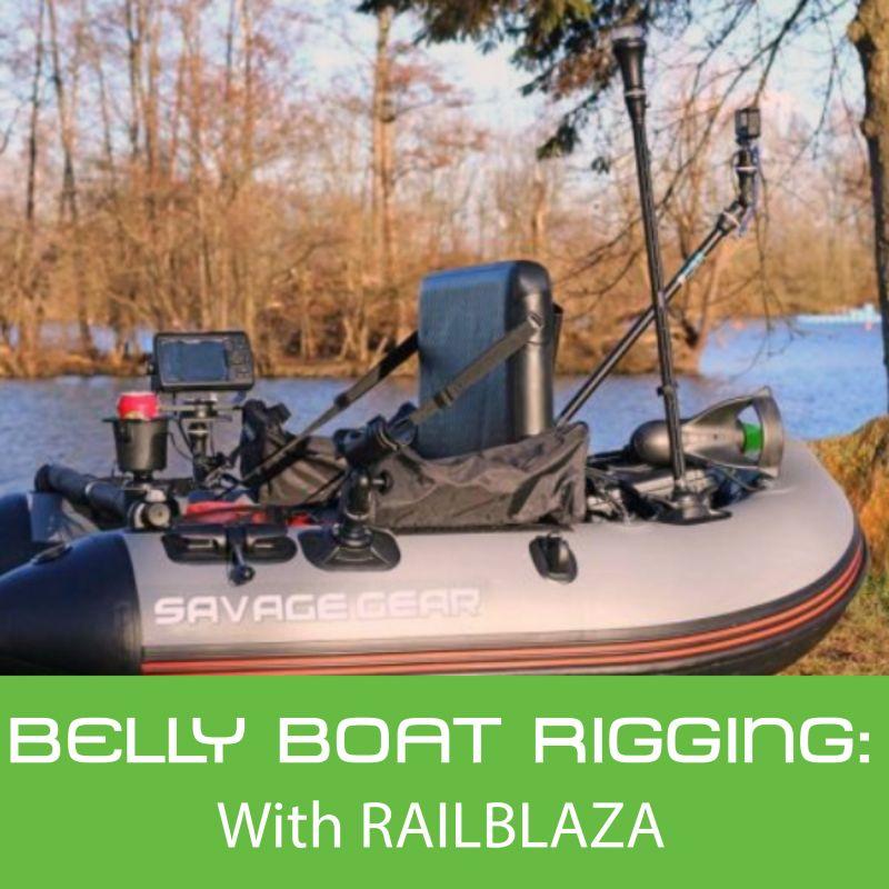 Angelzubehör Bellyboot Flossen Savage Gear Belly Boat Fins XL//XXL 70cm
