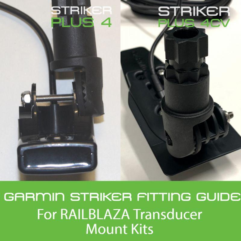 How To Fit Garmin Striker Plus 4 & 4CV Transducer To