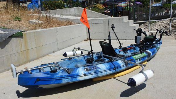 How to make a DIY stand-up bar for your kayak | RAILBLAZA