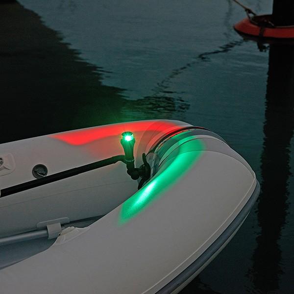 Led Boat Navigation Lights Battery: Portable Bi-colour Navigation Light